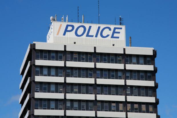 Christchurch police headquarters