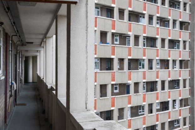 council housing estate