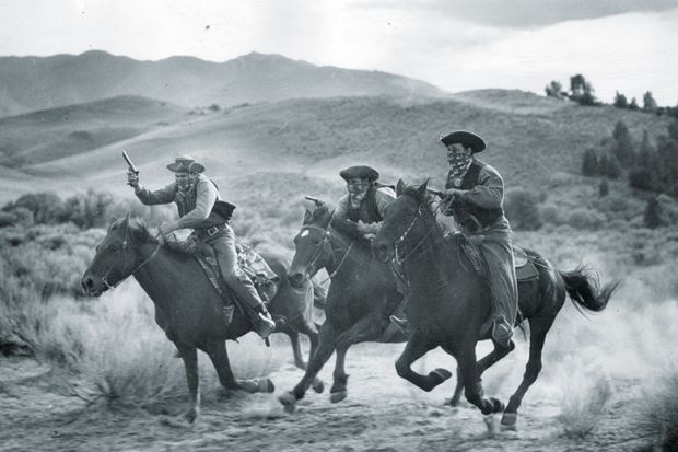 Cowboys at a gallop