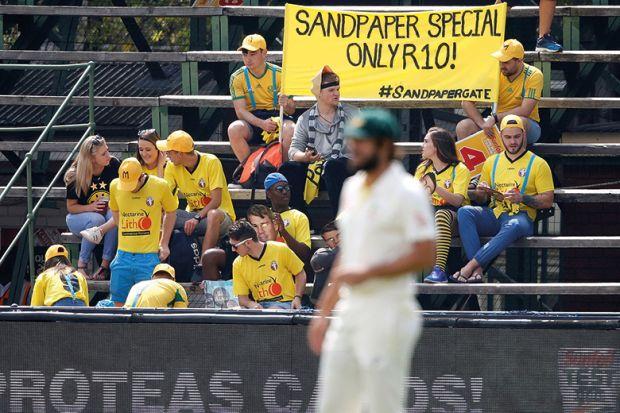 cricket sandpaper