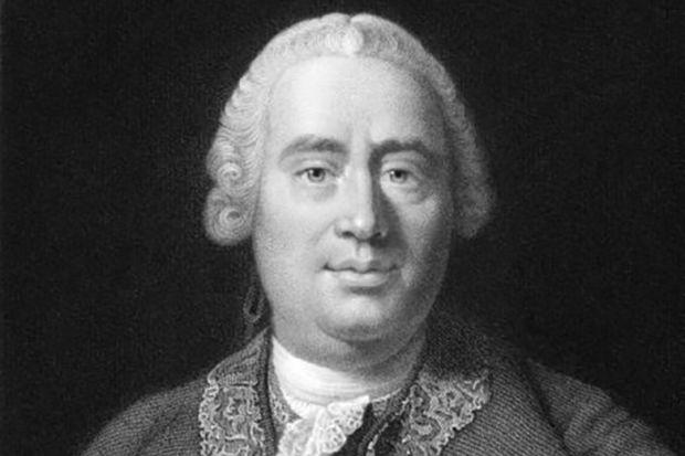 David Hume portrait