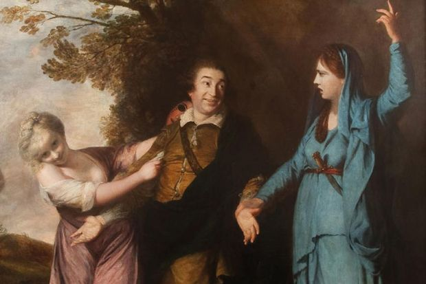 Painting of David Garrick