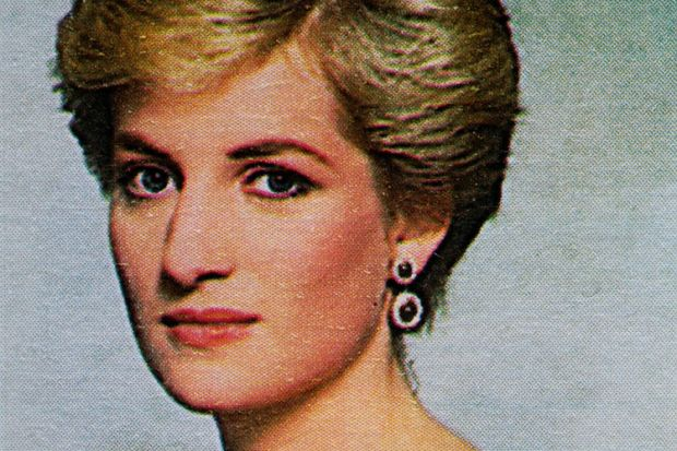 Diana, Princess of Wales postage stamp