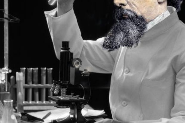 Dickens in lab