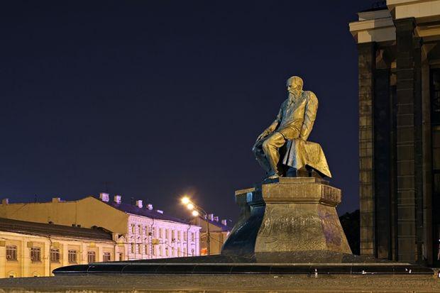 Dostoevsky statue
