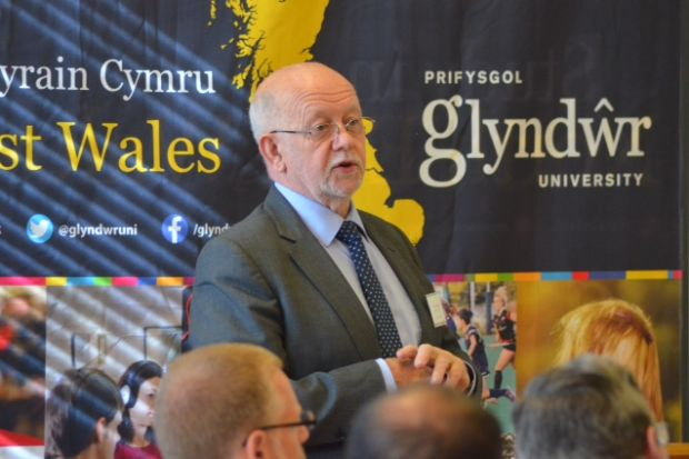 Graham Upton, vice-chancellor of Glyndwr University