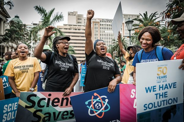 March for Science Durban