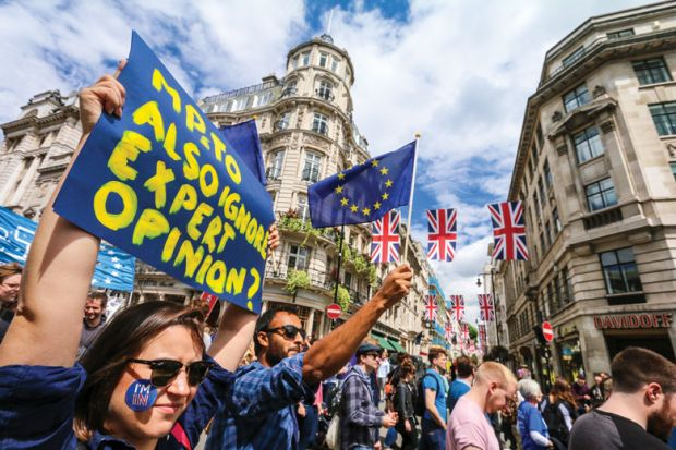Protesting the result of the EU Referendum