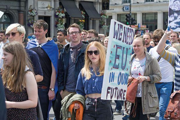 Pro-EU march