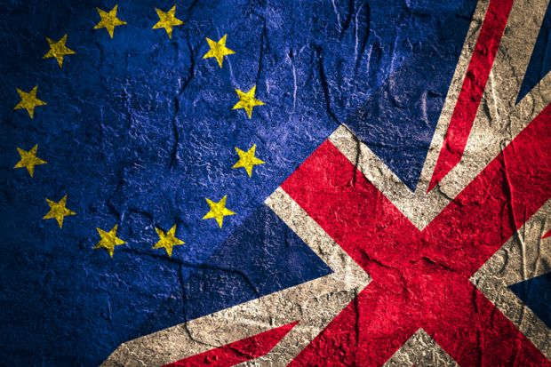 Europe UK flags