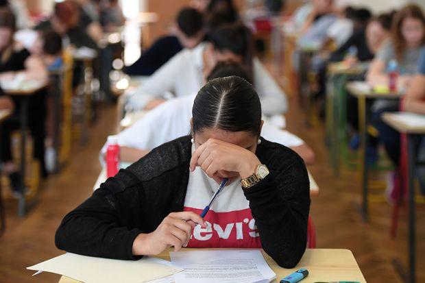 writing exam