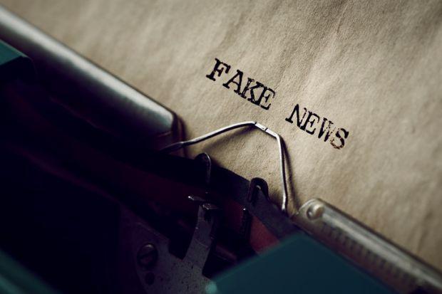 Fake news typewriter