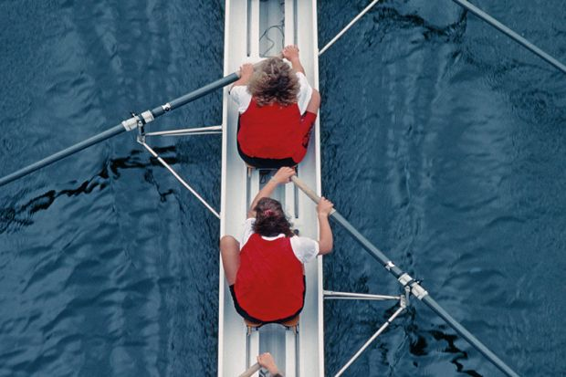 Female rowers
