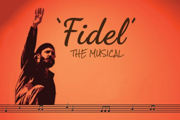 Poster for Fidel the Musical