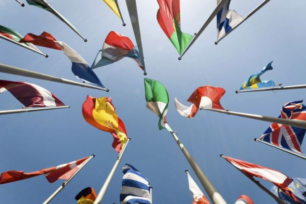 Flags of European Union member countries