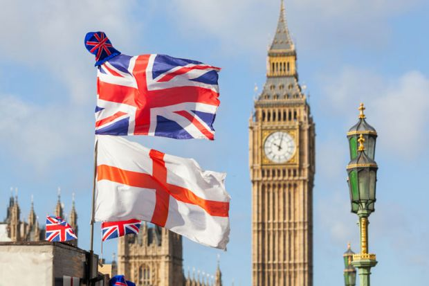 Flags of United Kingdom and England, Houses of Parliament