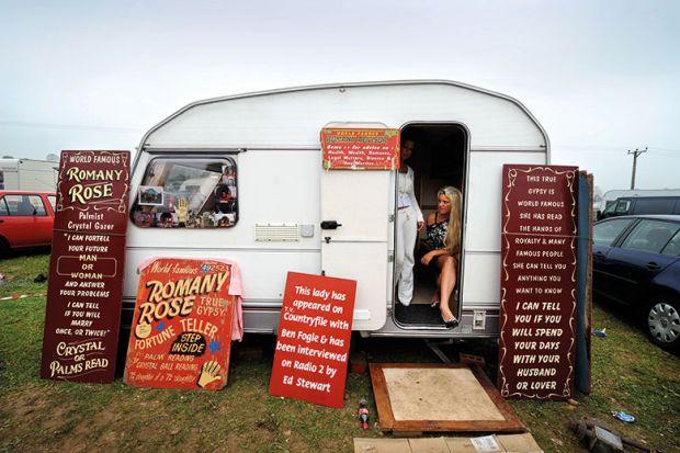 fortune teller caravan