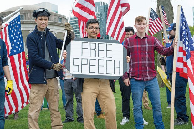Free Speech sign being upheld in Boston