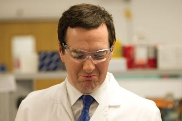 George Osborne visiting Begbrooke Science Park, Oxfordshire