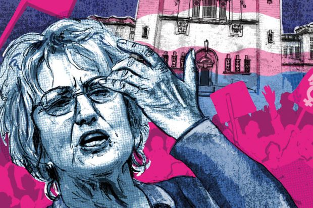 Germaine Greer illustration, by Matthew Brazier