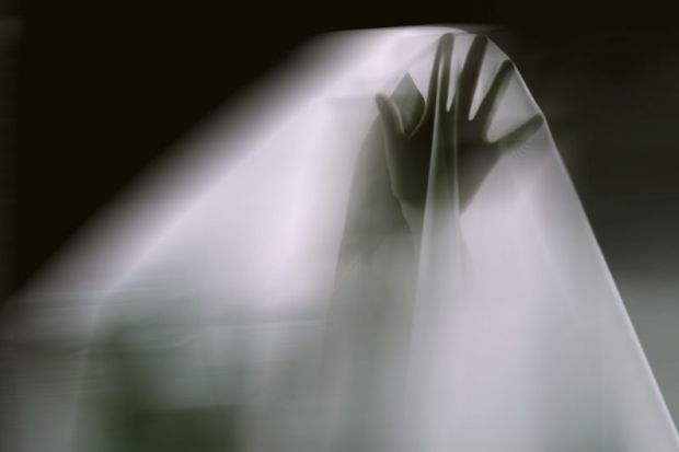 Ghost reaching out from beyond