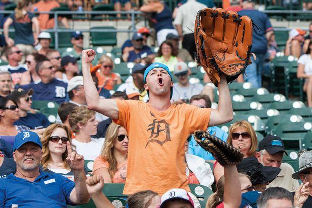 Giant baseball glove