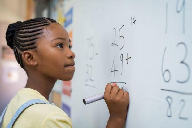 girl maths problem