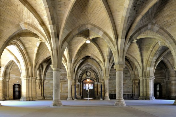 University of Glasgow - most beautiful universities in the UK