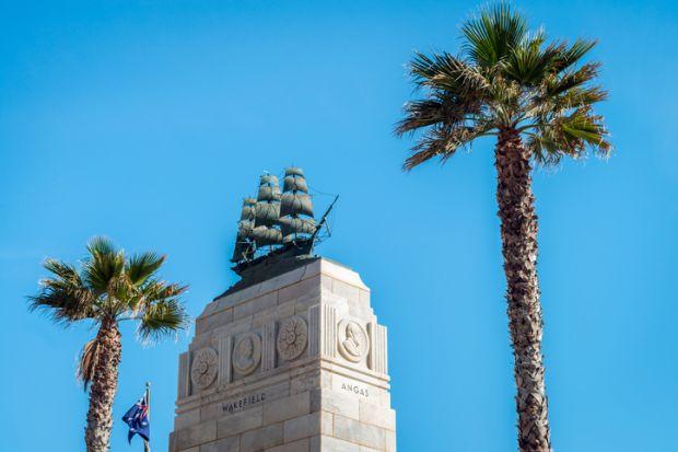 Glenelg Beach Pioneer Monument