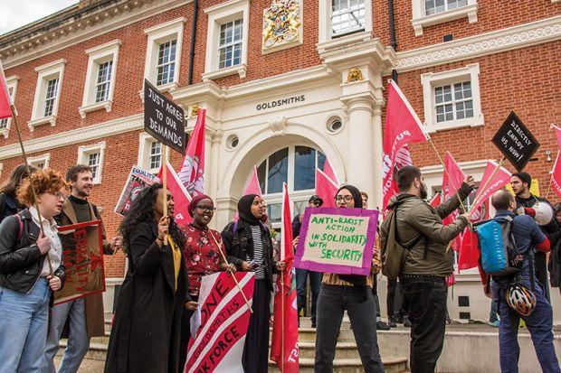 Goldsmiths protest
