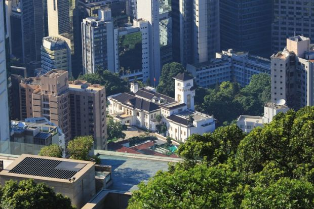 Hong Kong S Rae Is A Colonial Throwback Times Higher Education The