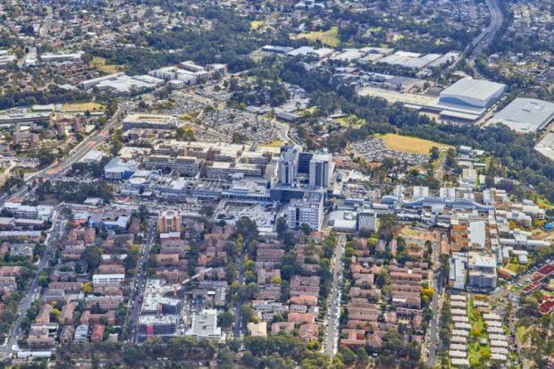 GPOP Western Sydney Westmead Health and Education Precinct