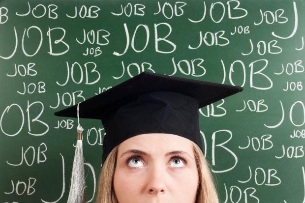 Graduate thinking about job