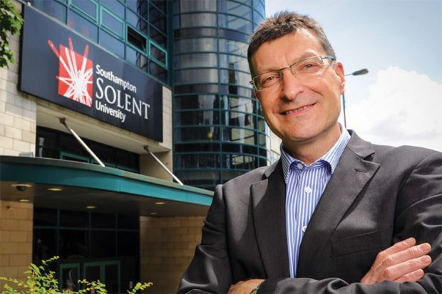 Graham Baldwin, vice-chancellor of Southampton Solent University