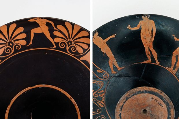 The Transformation Of Athens Painted Pottery And The Creation Of