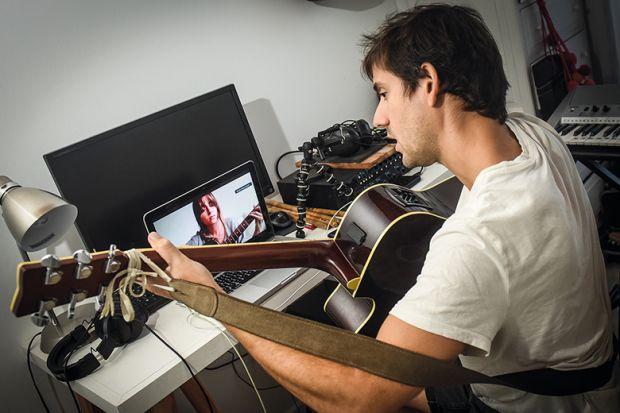 guitar lesson online