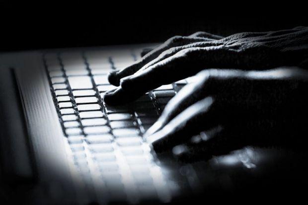 Hacker fingers
