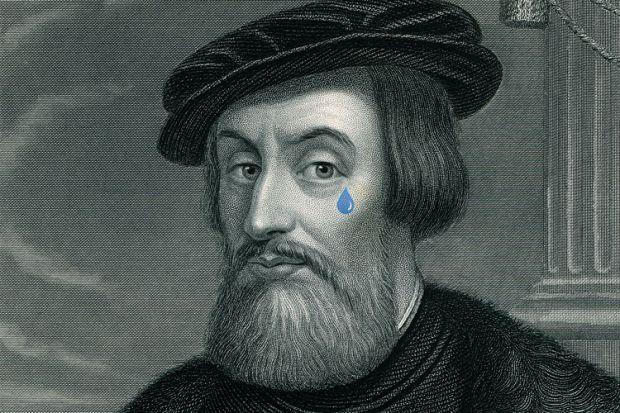 Hernán Cortés portrait