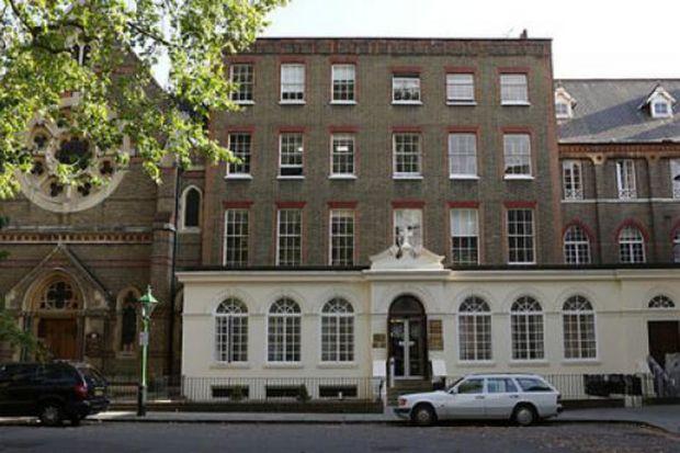 Heythrop College main building, London