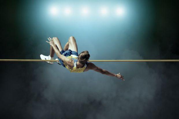 high jump bar