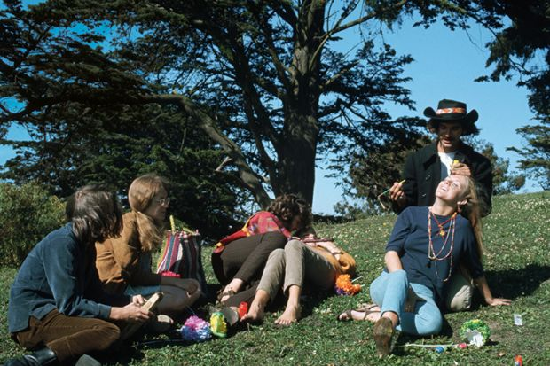 hippies at summer of love