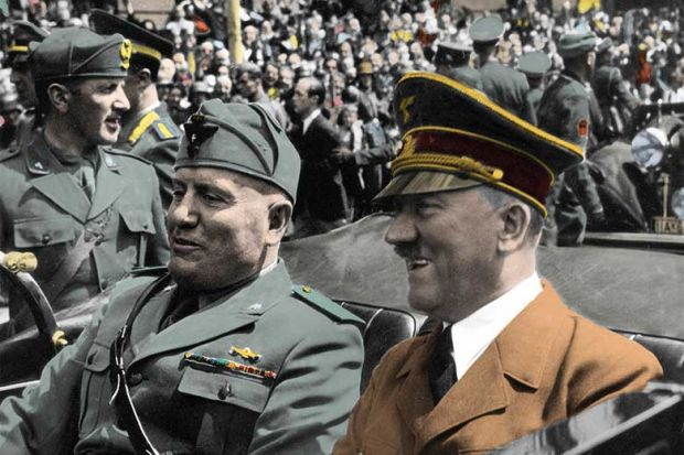 Mussolini and Hitler: The Forging of the Fascist Alliance, by ...