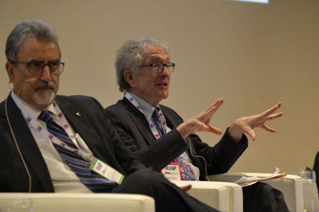 Howard Gardner speaks at the THE World Academic Summit