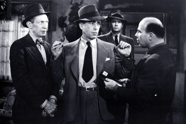 Humphrey Bogart as Philip Marlowe in The Big Sleep, 1946