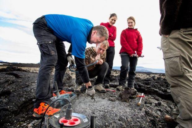 University of Iceland tourism students