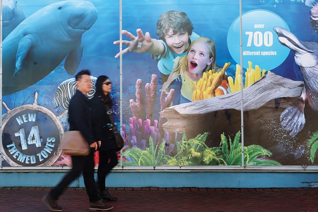 Ignoring Sydney Aquarium