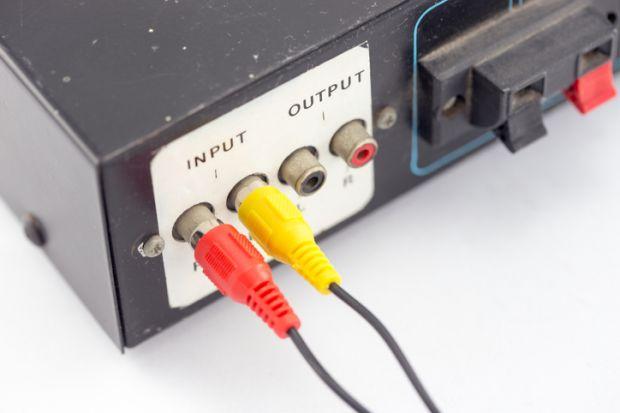 input and output jacks