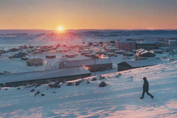 Iqaluit sunset