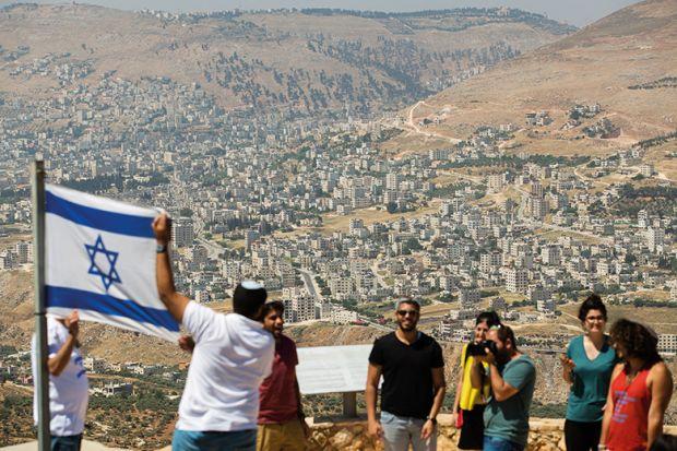 Settlement university law set to stoke israel boycotts the news israelis with flag of israel stopboris Images
