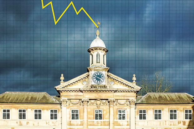 Times Higher Education app cover (5 April 2018)